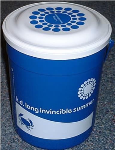 LANG, K.D. - Invincible Summer Plastic Bucket - Autres