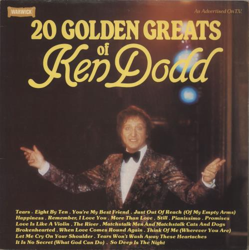 DODD, KEN - 20 Golden Greats Of Ken Dodd - 12 inch 33 rpm