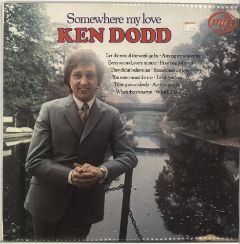 DODD, KEN - Somewhere My Love - Maxi 33T