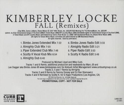 LOCKE, KIMBERLEY - Fall - Remixes - CD