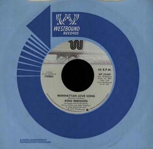 Errisson, King Manhattan Love Song