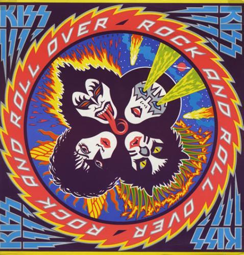 kiss rock and roll over venezuela vinyl lp record 120
