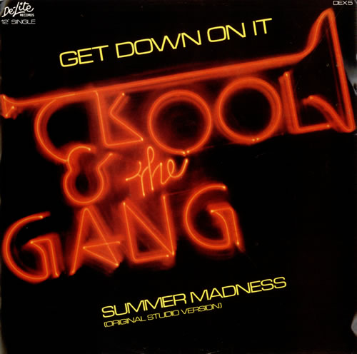 Kool Amp The Gang Get Down On It Uk 12 Quot Vinyl Record Maxi
