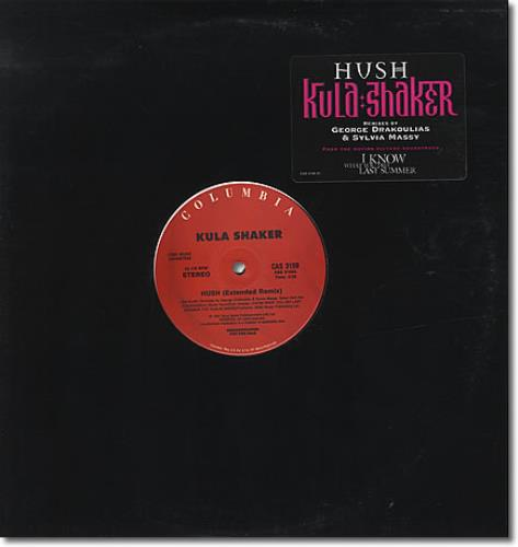 Kula Shaker Hush Usa Promo 12 Quot Vinyl Record Maxi Single