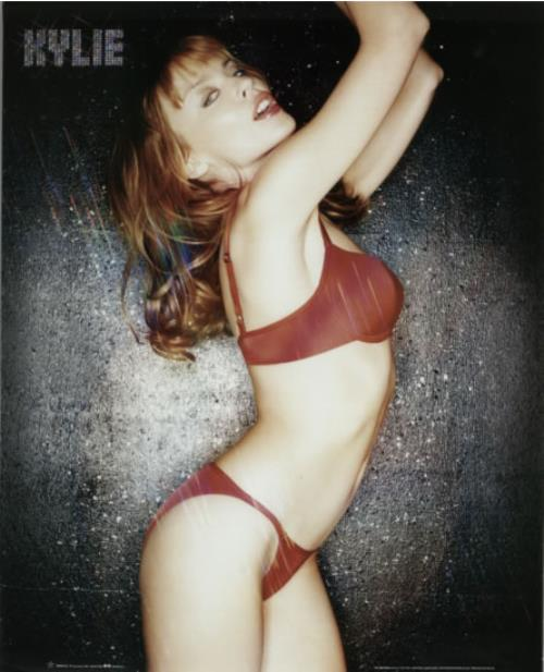 228eec96a1476 Kylie Minogue Kylie - Red Lingerie - Small UK Poster POSTER Kylie ...