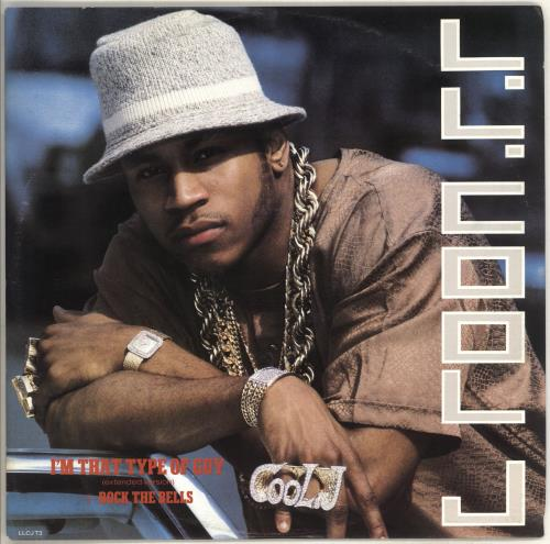 LL COOL J - I'm That Type Of Guy - 12 inch 33 rpm