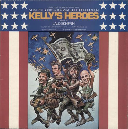 SCHIFRIN, LALO - Kelly's Heroes - Maxi 33T