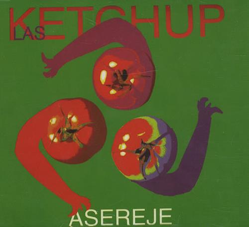 Las Ketchup Asereje Mexican Promo 5 Quot Cd Single Prcd98669