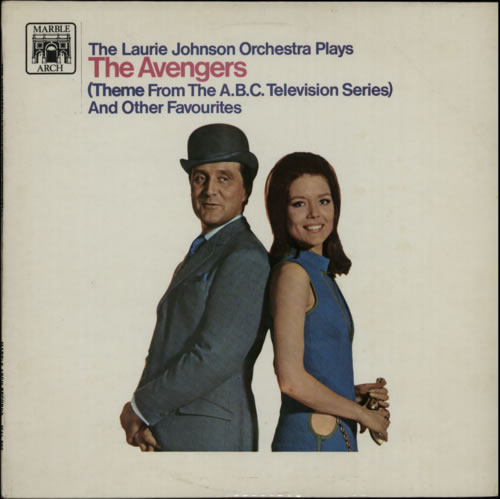 JOHNSON, LAURIE - The Avengers - 12 inch 33 rpm