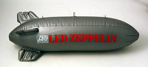 Led Zeppelin Inflatable Blimp Usa Promo Memorabilia Blimp