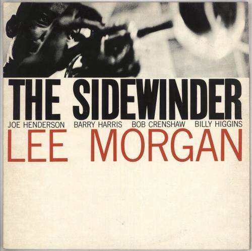 MORGAN, LEE - The Sidewinder - 12 inch 33 rpm