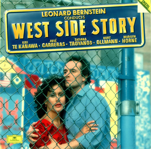 1984 Quotes With Page Numbers: Leonard Bernstein West Side Story German Double Vinyl LP