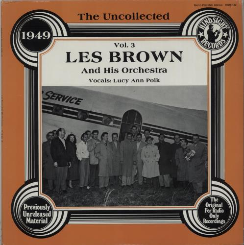 BROWN, LES - The Uncollected Les Brown And His Orchestra 1949 , Vol.3 - 12 inch 33 rpm
