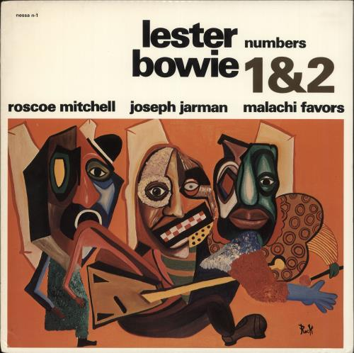 BOWIE, LESTER - Numbers 1 & 2 - Maxi 33T