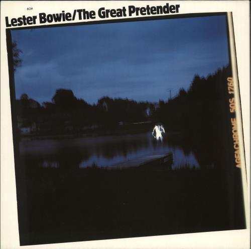 BOWIE, LESTER - The Great Pretender - Maxi 33T