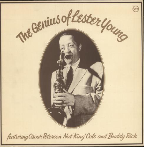 YOUNG, LESTER - The Genius Of Lester Young - Maxi 33T