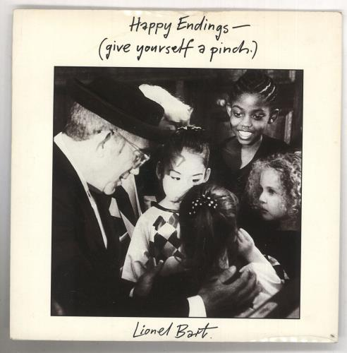 BART, LIONEL - Happy Endings (Give Yourself A Pinch) - 7inch x 1