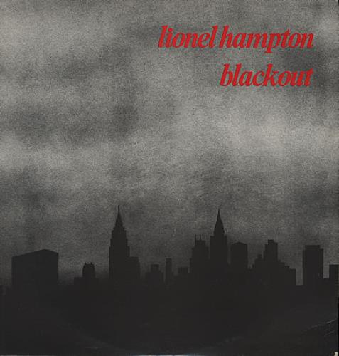 HAMPTON, LIONEL - Blackout - First Issue - 12 inch 33 rpm