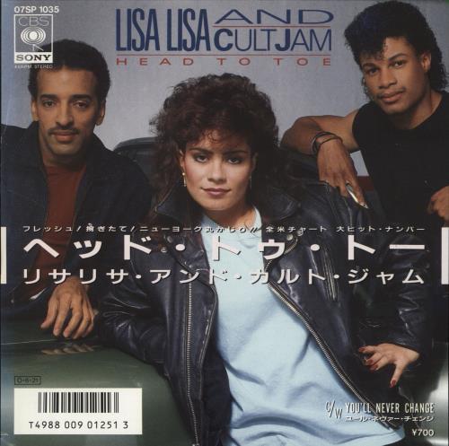LISA LISA & CULT JAM - Head To Toe - 7inch x 1