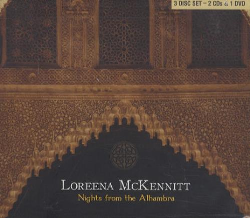 Loreena Mckennitt Nights From The Alhambra USA 3 Disc Cd/Dvd
