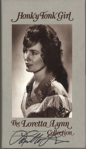 LYNN, LORETTA - Honky Tonk Girl - The Loretta Lynn Collection - Autographed - Autres