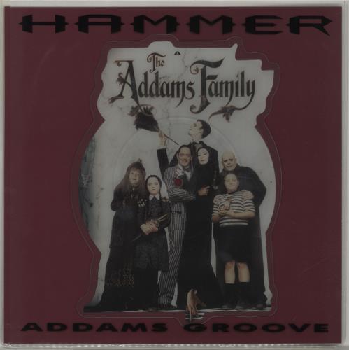 MC HAMMER - Addams Groove - 7inch x 1
