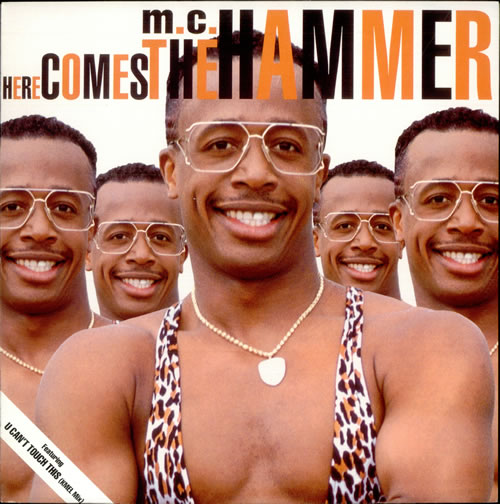 MC HAMMER - Here Comes The Hammer - 12 inch 33 rpm