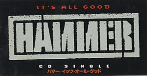 MC HAMMER - It's All Good - Grandmaster Mix - CD