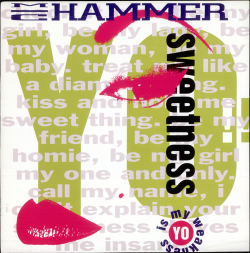 MC HAMMER - Yo! Sweetness - Maxi 33T