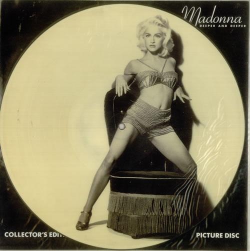 madonna deeper and deeper - ex