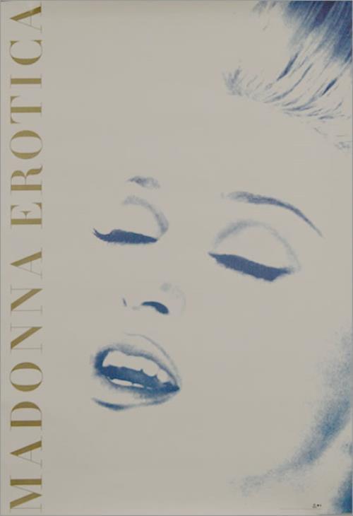 Madonna Erotica Usa Promo Poster 26 X 37 Erotica Madonna -8567