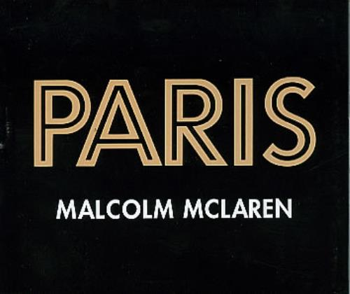 Paris by Mclaren, Malcolm, CD with eilcom - Ref:3077175965