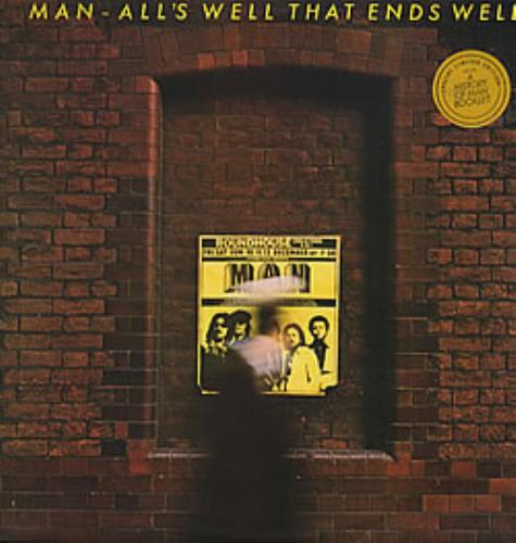 Man All's Well That Ends Well + booklet