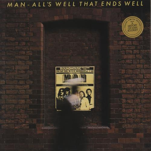 Man All's Well That Ends Well - Factory Sample + booklet