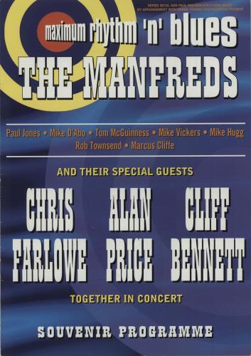 MANN, MANFRED - Maximum Rhythm 'n' Blues + Ticket Stub - Autres