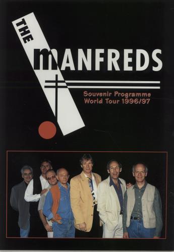 MANN, MANFRED - World Tour 1996/97 + Ticket Stub - Autres
