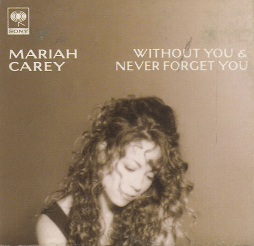 Without you - snapped ... Mariah Carey Custom Album Covers