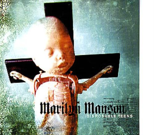 Marilyn Manson Disposable Teens European 5 Quot Cd Single