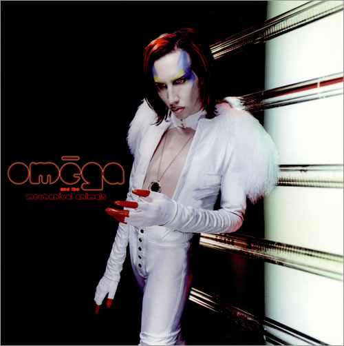 Marilyn Manson Mechanical Animals White Amp Blue Vinyl Usa