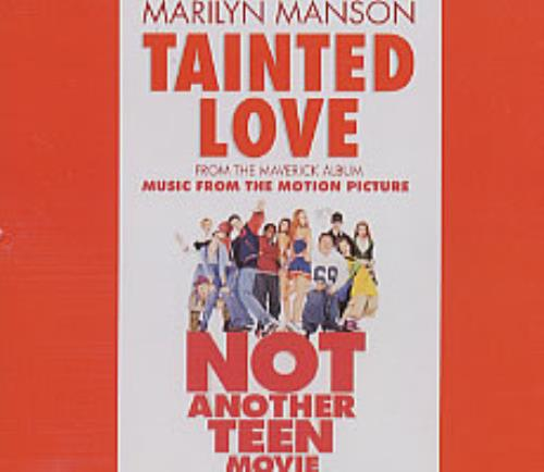 Marilyn Manson Tainted Love German Promo 5 Quot Cd Single