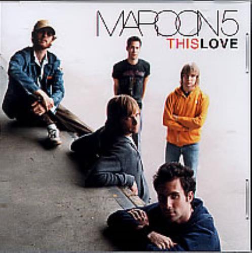 maroon 5 pdf this love