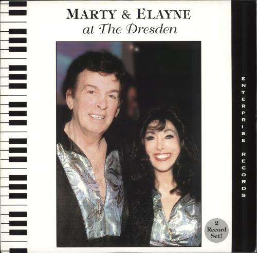 MARTY & ELAYNE - At The Dresden - 12 inch 33 rpm