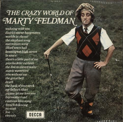 FELDMAN, MARTY - The Crazy World Of Marty Feldman - Maxi 33T