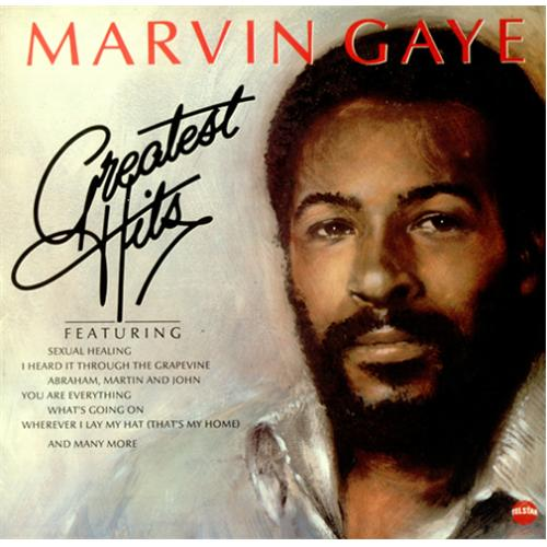 Marvin Gaye Greatest Hits Uk Vinyl Lp Record Star2234