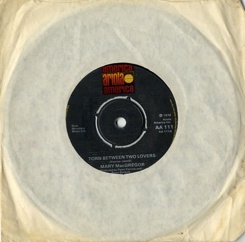 MACGREGOR, MARY - Torn Between Two Lovers - 7inch x 1