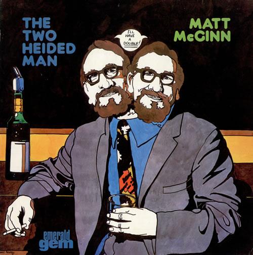 MCGINN, MATT - The Two Heided Man - 12 inch 33 rpm