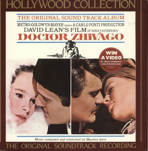 JARRE, MAURICE - Doctor Zhivago + Poster - Maxi 33T