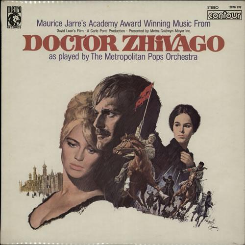 JARRE, MAURICE - Doctor Zhivago - Maxi 33T