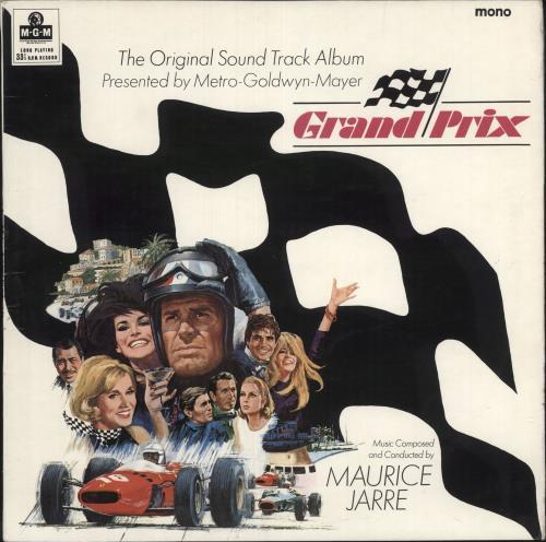JARRE, MAURICE - Grand Prix - 12 inch 33 rpm