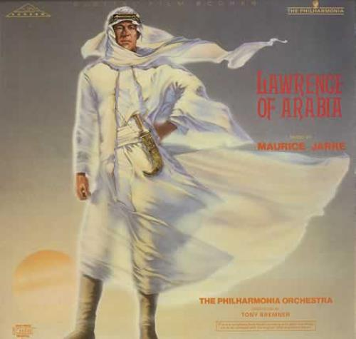 Maurice Jarre Lawrence Of Arabia Uk Vinyl Lp Record